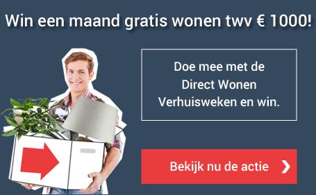 Direct Wonen Verhuisweken actie.