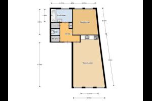 Bekijk appartement te huur in Den Bosch Keizerstraat, € 895, 60m2 - 303611. Geïnteresseerd? Bekijk dan deze appartement en laat een bericht achter!
