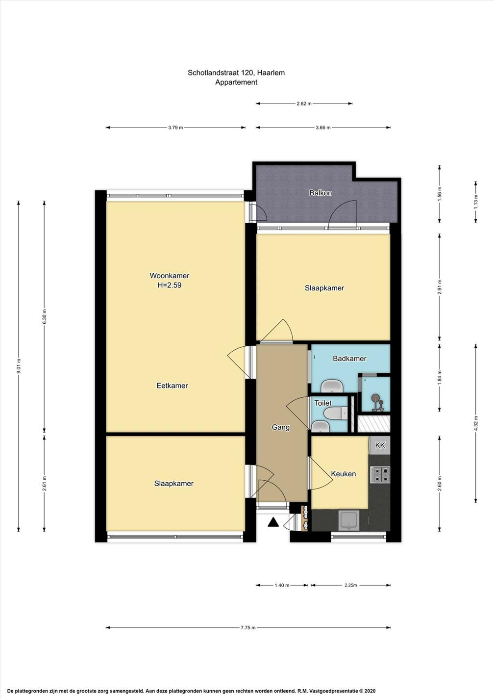 Te huur: Appartement Schotlandstraat, Haarlem - 18