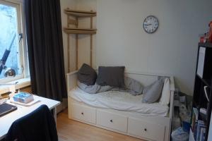 Bekijk kamer te huur in Leiden Haarlemmerstraat: Heerlijke kamer  - € 475, 18m2 - 338950