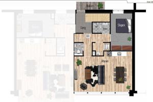 Bekijk appartement te huur in Eindhoven Nieuwstraat, € 1250, 56m2 - 365904. Geïnteresseerd? Bekijk dan deze appartement en laat een bericht achter!