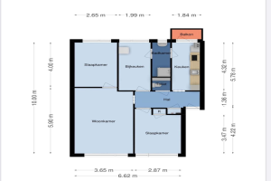 Te huur: Appartement Spreeuwenweg, Apeldoorn - 1