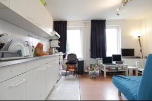 Bekijk appartement te huur in Zwolle Thomas a Kempisstraat: Maisonette met riant gedeeld dakterras aan de rand van de binn... - € 650, 55m2 - 328307