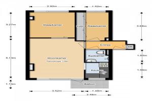 Bekijk appartement te huur in Rotterdam Goereesestraat, € 995, 60m2 - 383604. Geïnteresseerd? Bekijk dan deze appartement en laat een bericht achter!