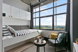 Bekijk studio te huur in Enschede D. Veldmaat, € 450, 30m2 - 350849. Geïnteresseerd? Bekijk dan deze studio en laat een bericht achter!