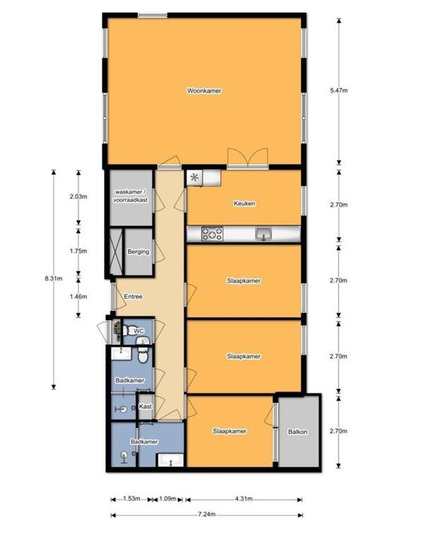 Te huur: Appartement Gevers Deynootweg, Den Haag - 44