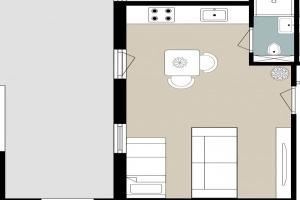 Bekijk studio te huur in Tilburg Heuvelstraat, € 675, 28m2 - 369548. Geïnteresseerd? Bekijk dan deze studio en laat een bericht achter!