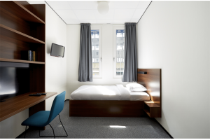 Bekijk studio te huur in Rotterdam Willem Ruyslaan: Fully-Furnished Room with Private Bathroom  - € 737, 16m2 - 295522