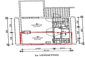 Bekijk appartement te huur in Tilburg Danie Theronstraat: Studio appartement - € 450, 35m2 - 343472