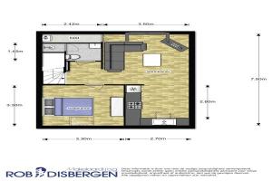 Bekijk appartement te huur in Nijmegen Hillekensacker, € 750, 44m2 - 356337. Geïnteresseerd? Bekijk dan deze appartement en laat een bericht achter!