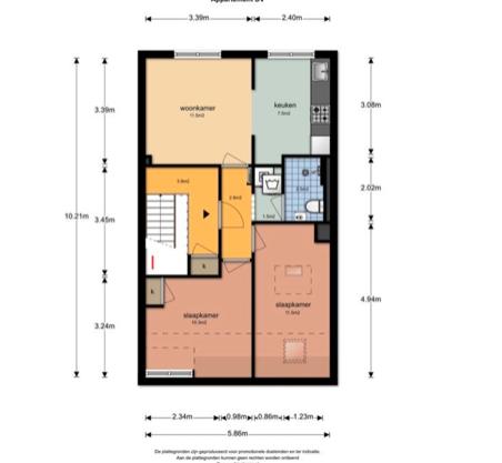 Te huur: Appartement Orteliusstraat, Amsterdam - 4