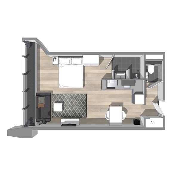 Te huur: Appartement Van Embdenstraat, Delft - 8