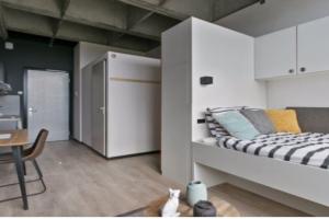 Bekijk studio te huur in Enschede De Veldmaat, € 430, 23m2 - 384817. Geïnteresseerd? Bekijk dan deze studio en laat een bericht achter!