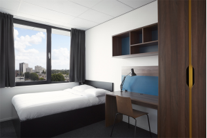 Bekijk studio te huur in Maastricht Sphinxcour: Fully-Furnished Room with Private Bathroom - € 720, 19m2 - 309777