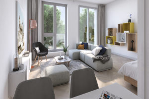 View studio for rent in Den Bosch Het Wielsem, € 720, 33m2 - 375880. Interested? check out this studio and leave a message!
