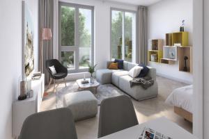 Bekijk studio te huur in Den Bosch Het Wielsem, € 720, 33m2 - 375880. Geïnteresseerd? Bekijk dan deze studio en laat een bericht achter!