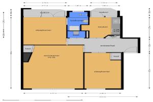For rent: Apartment Admiraal de Ruyterlaan, Hilversum - 1