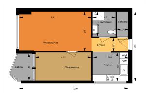 Bekijk appartement te huur in Vlaardingen J.v. Beierenstraat, € 950, 50m2 - 341034. Geïnteresseerd? Bekijk dan deze appartement en laat een bericht achter!