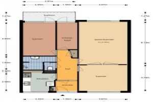 Bekijk appartement te huur in Amsterdam S. F. van Ossstraat, € 1395, 80m2 - 380584. Geïnteresseerd? Bekijk dan deze appartement en laat een bericht achter!