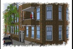 Bekijk appartement te huur in Rotterdam Willem van Hillegaersbergstraat: Appartement - € 1125, 60m2 - 299382