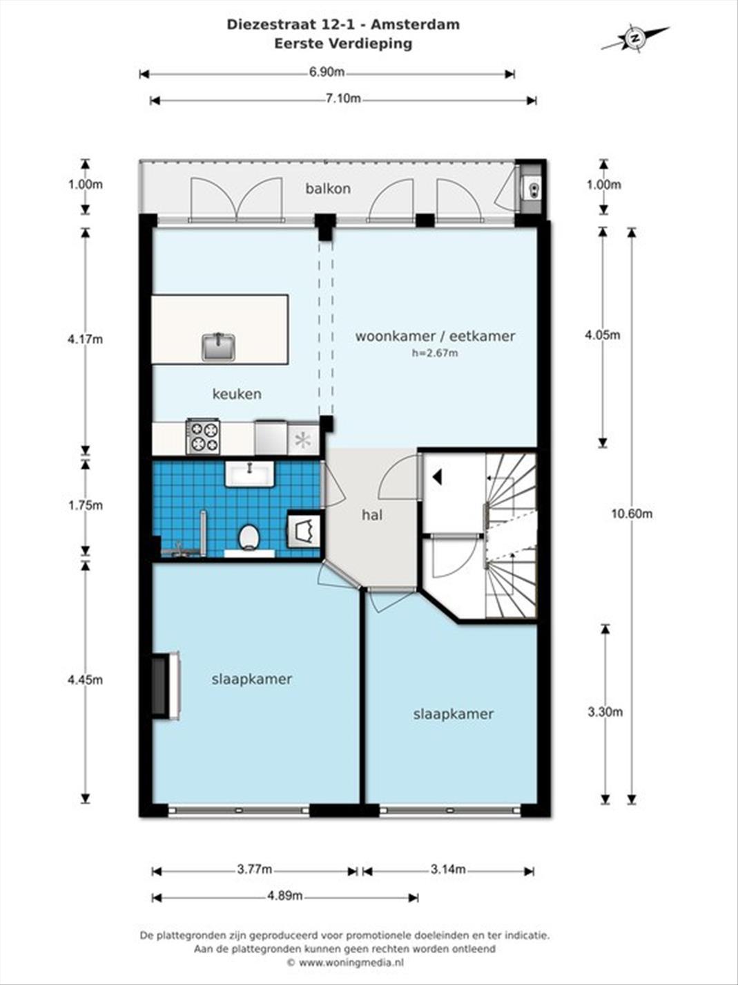 For rent: Apartment Diezestraat, Amsterdam - 15