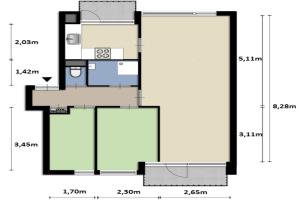 Bekijk appartement te huur in Tilburg Muiderslotstraat, € 705, 65m2 - 355867. Geïnteresseerd? Bekijk dan deze appartement en laat een bericht achter!