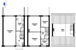 For rent: House Dirk van der Leckstraat, Heemskerk - 1
