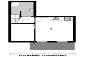 Te huur: Studio Bouriciusstraat, Arnhem - 1