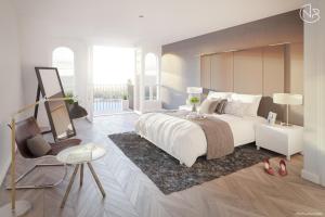 Bekijk appartement te huur in Bunschoten-Spakenburg Zuiderzeeboulevard: Gemeubileerd Appartement - € 2200, 100m2 - 355132