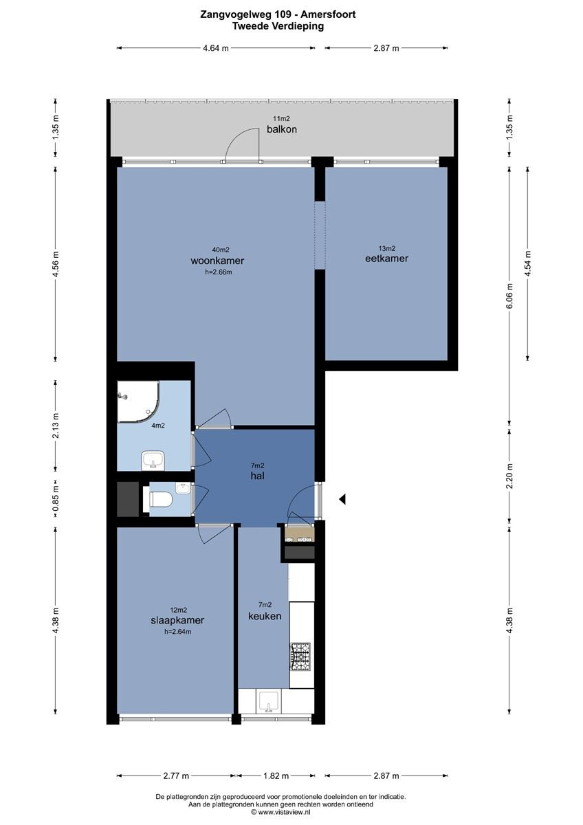 Te huur: Appartement Zangvogelweg, Amersfoort - 16