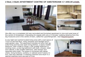 Te huur: Appartement Nieuwe Looiersstraat, Amsterdam - 1