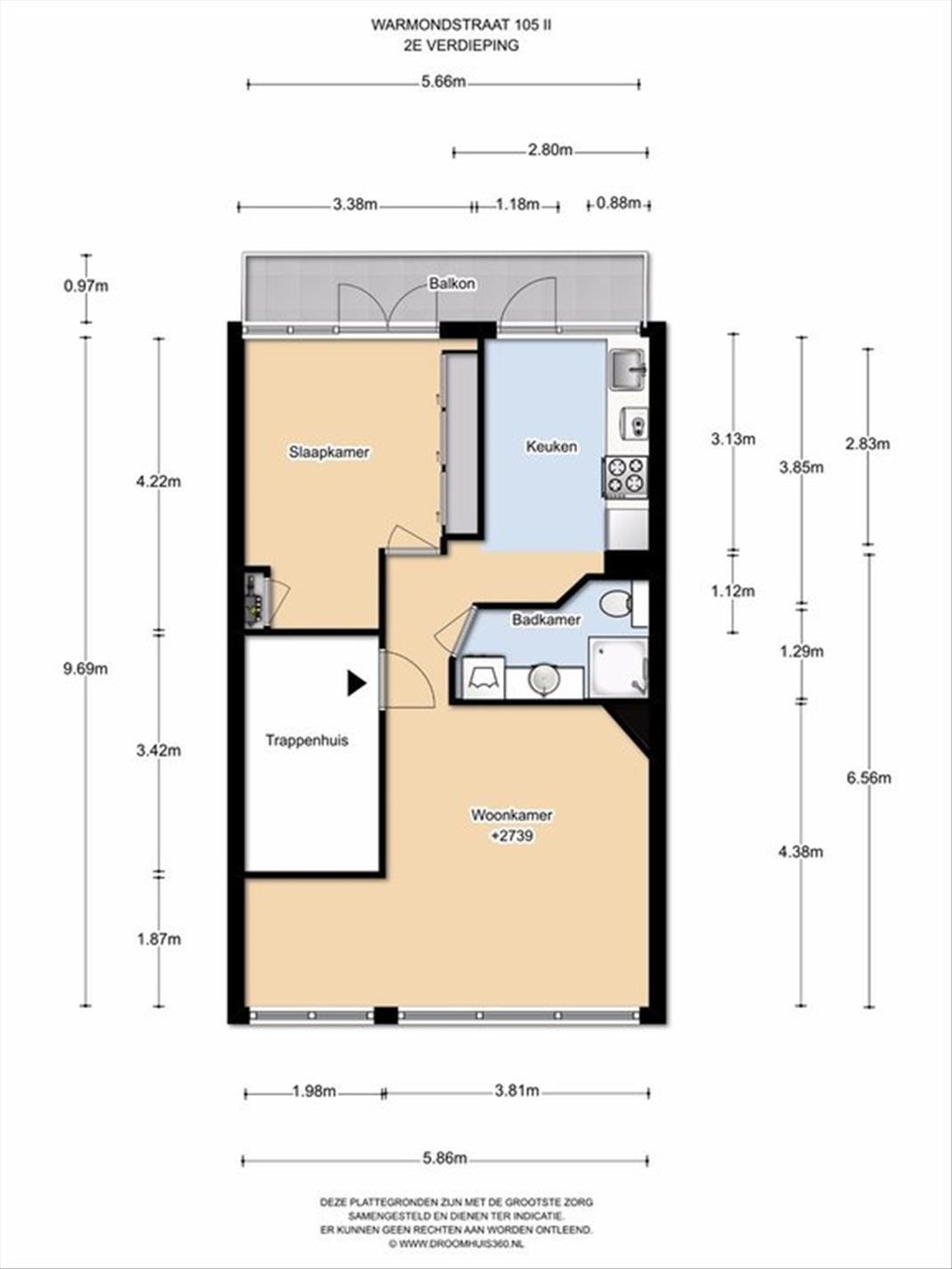 Te huur: Appartement Warmondstraat, Amsterdam - 11