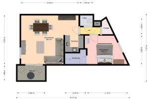 Bekijk appartement te huur in Eindhoven Bleekweg, € 1100, 55m2 - 391721. Geïnteresseerd? Bekijk dan deze appartement en laat een bericht achter!