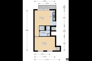 Bekijk appartement te huur in Utrecht Ooftstraat, € 950, 44m2 - 303879. Geïnteresseerd? Bekijk dan deze appartement en laat een bericht achter!