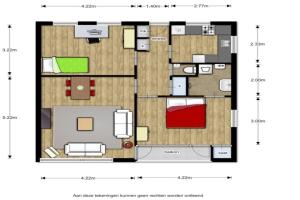 Bekijk appartement te huur in Deventer Johannes Sinthenstraat, € 710, 75m2 - 340037. Geïnteresseerd? Bekijk dan deze appartement en laat een bericht achter!