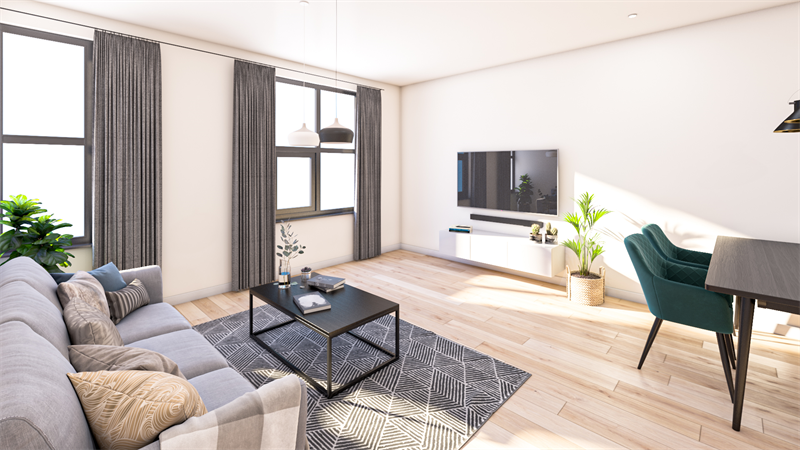 Te huur: Appartement Kloekhorststraat, Assen - 4