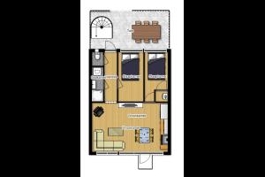 Bekijk appartement te huur in Eindhoven Keizer Karel V Singel: Gemeubileerd Appartement - € 950, 70m2 - 328210