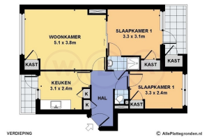 Te huur: Appartement Lange Wal, Arnhem - 1