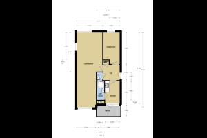 Bekijk appartement te huur in Nijmegen Planetenstraat, € 840, 60m2 - 322612. Geïnteresseerd? Bekijk dan deze appartement en laat een bericht achter!