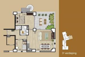 Bekijk appartement te huur in Eindhoven Stratumsedijk: Leuk appartement  - € 1025, 95m2 - 345488