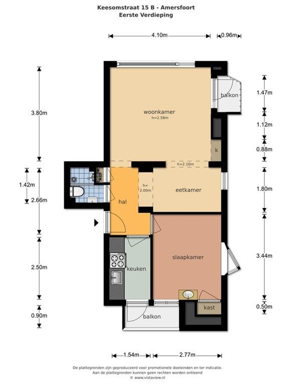 For rent: Apartment Keesomstraat, Amersfoort - 19